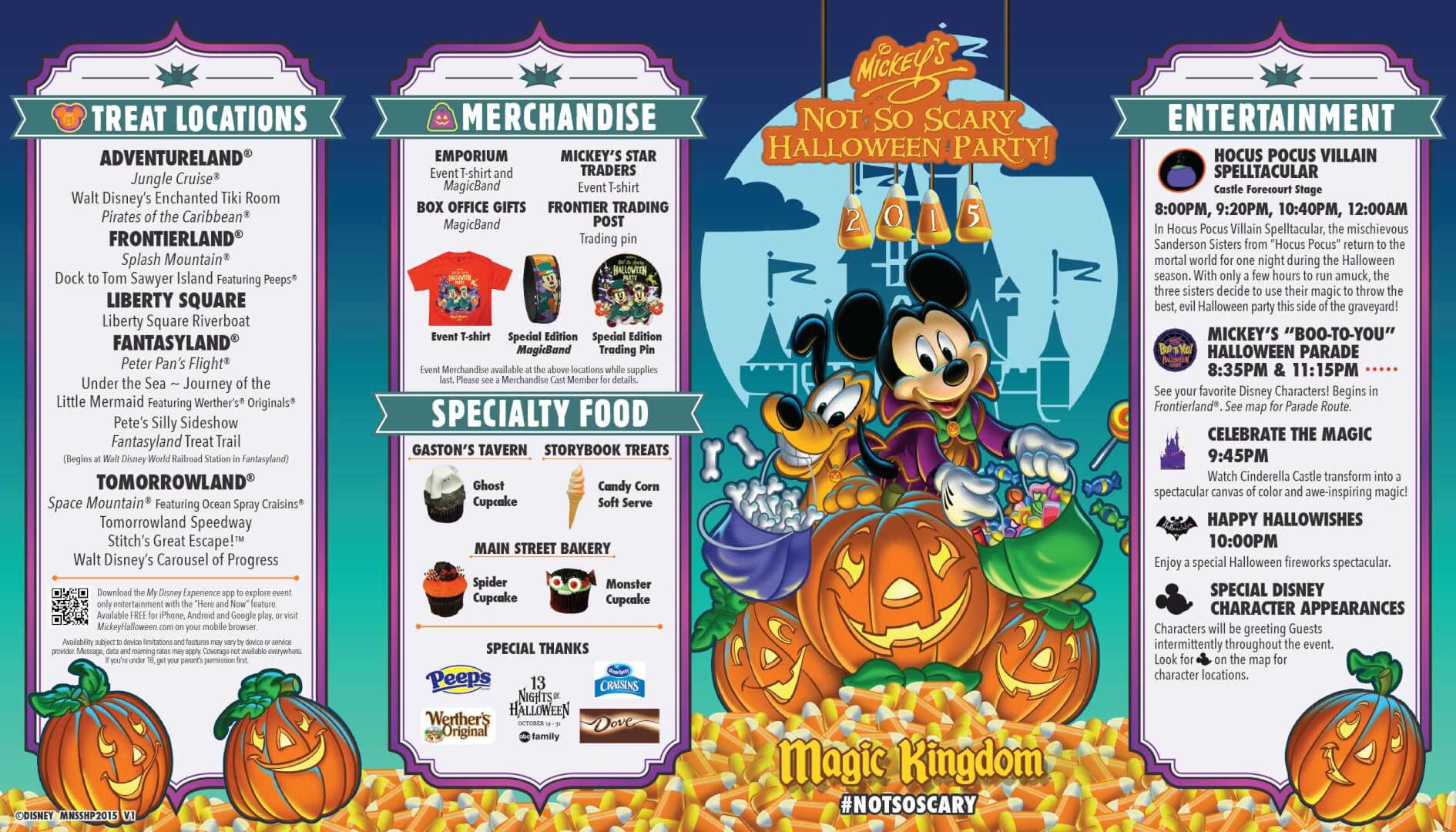 photos mickey s not so scary halloween party 2015 guide map