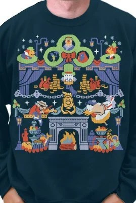 gallery ugly sweater2015_bless us every one - Disney Christmas Sweaters