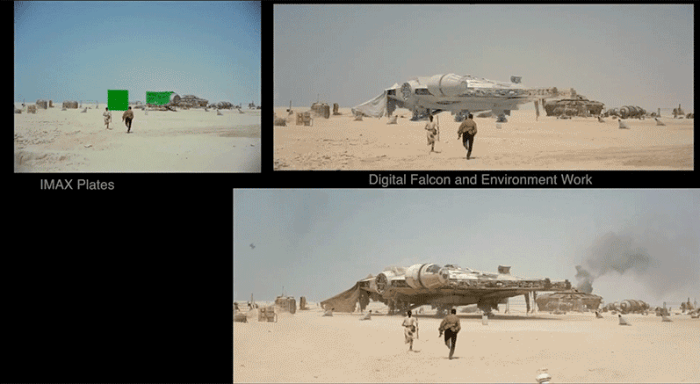Star Wars Force Awakens VFX