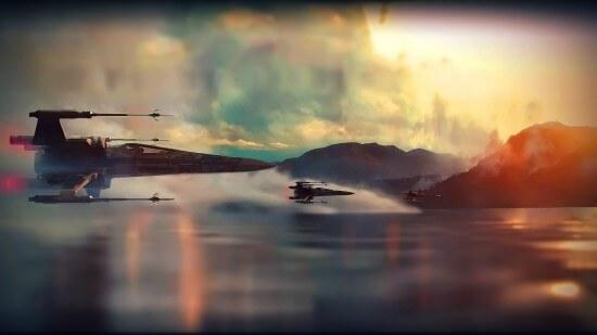 Force Awakens X Wings