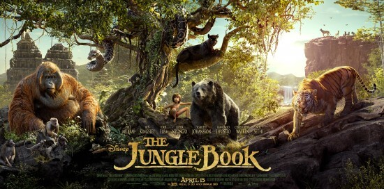 jungle book poster Triptych