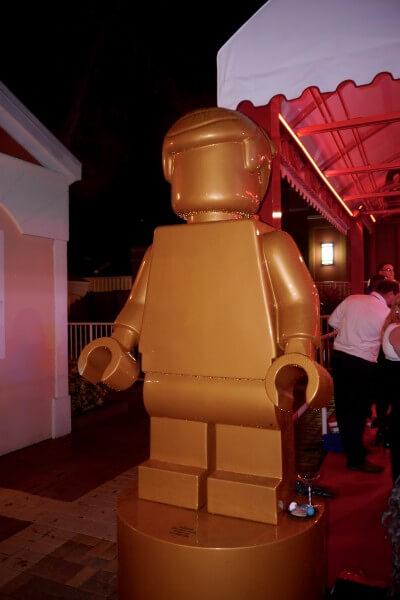 Legoland Florida Lego Movie premiere