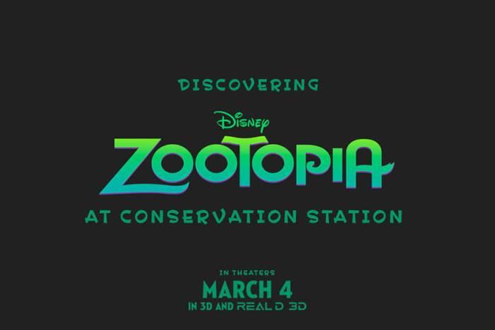 zootopia exhibit