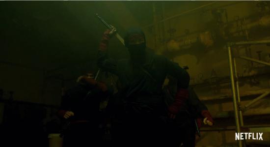 The hand Daredevil Season 2 Trailer 2