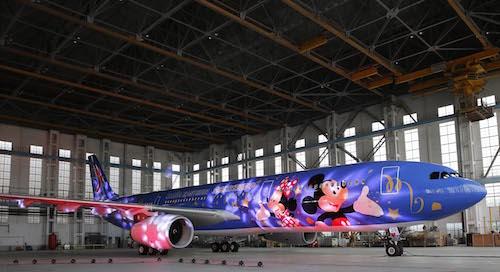 HKMSH_Shanghai Disney Resort Signs Alliance Agreement with China Eastern Airlines_上海迪士尼度假區與東方航空達成聯盟_彩繪飛機正式亮相_01