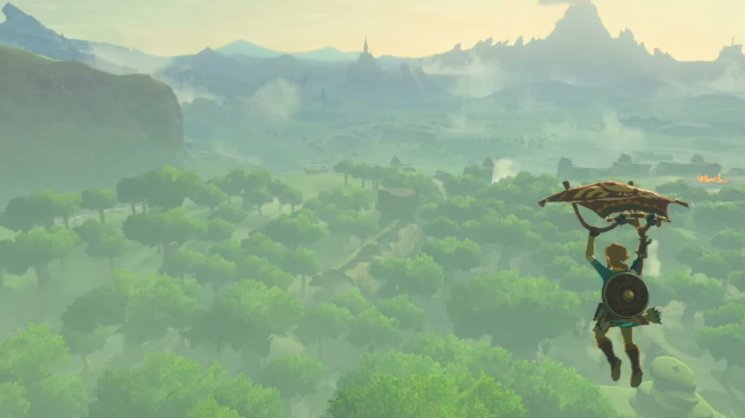 Image result for breath of the wild jump
