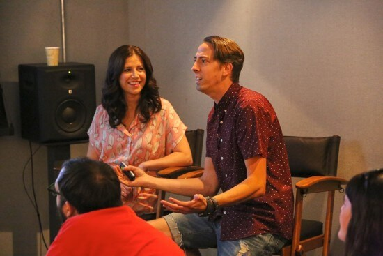 MOANA - (L-R) Amy Smeed (Head of Animation) and Malcon Pierce (Animation Supervisor, Moana) present at the Moana Long Lead Press Day on July 27, 2016 at Walt Disney Animation Studios - Tujunga Campus in North Hollywood, CA. Photo by Alex Kang. © 2016 Disney. All Rights Reserved.