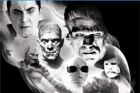 classic monsters from blu-ray box