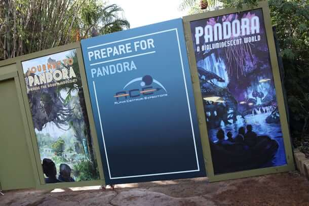 Pandora Construction Walls