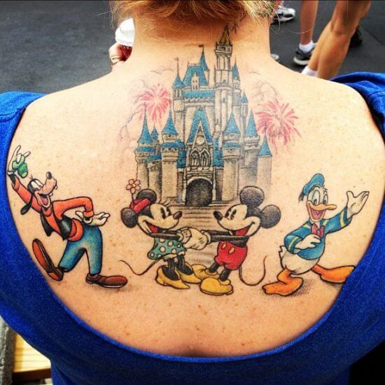 21 Disney-Inspired Tattoos That Will Make You Want To 'Ink