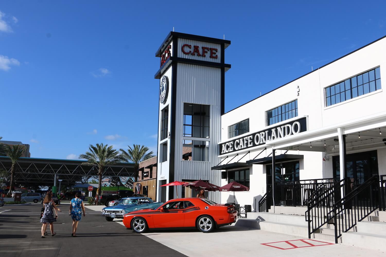Downtown Orlandos Ace Cafe Rolls Out New Menu Featuring Creative - Ace cafe orlando car show