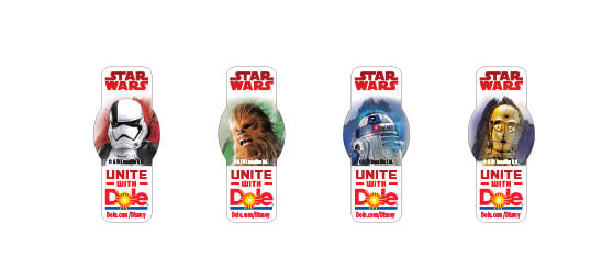 Lucasfilm And Dole Team Up To Give Healthy Foods A New Star Wars