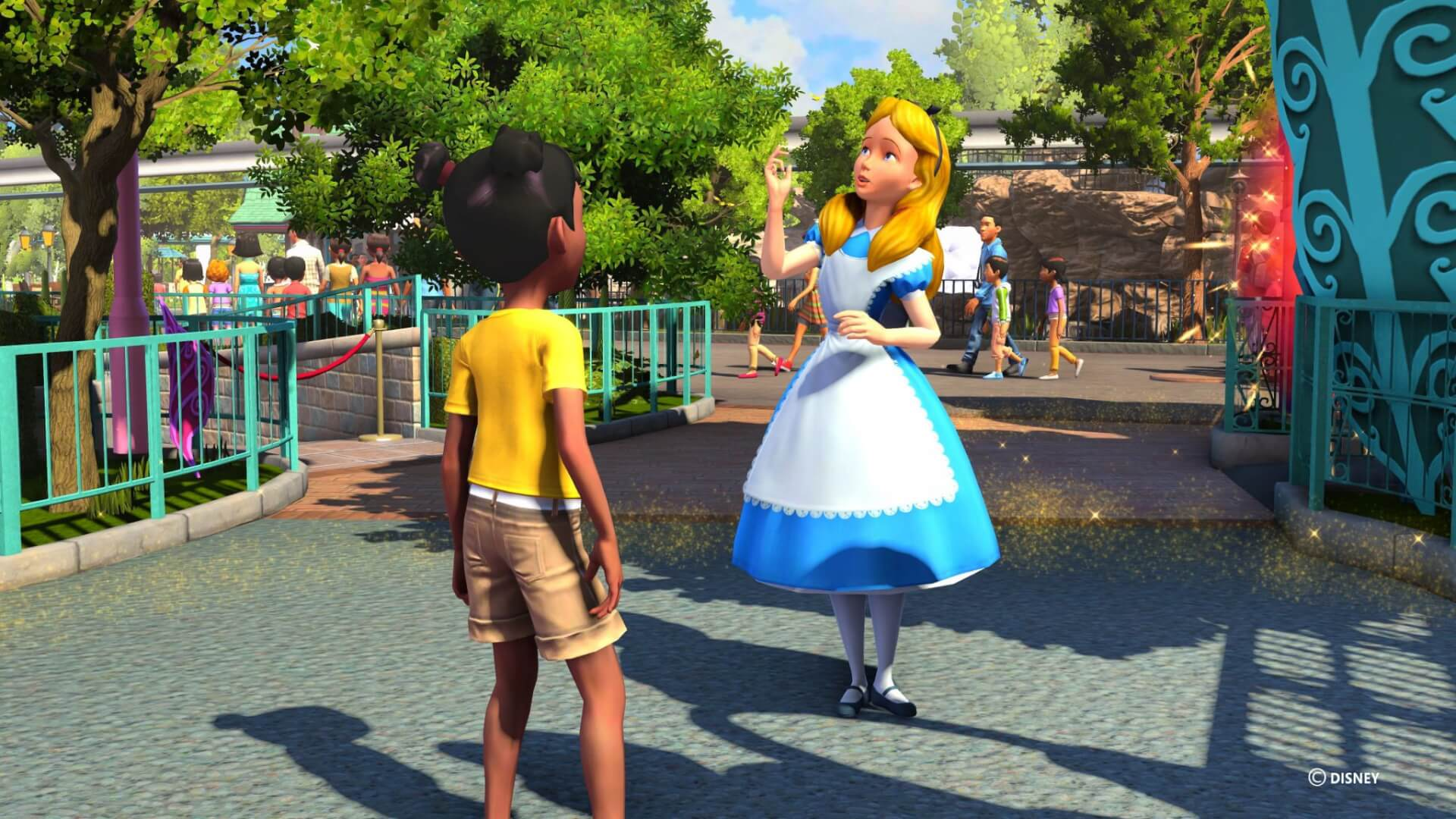 VIDEO Disneyland Adventures And Rush A Disney Pixar Adventure Video Games Arrive