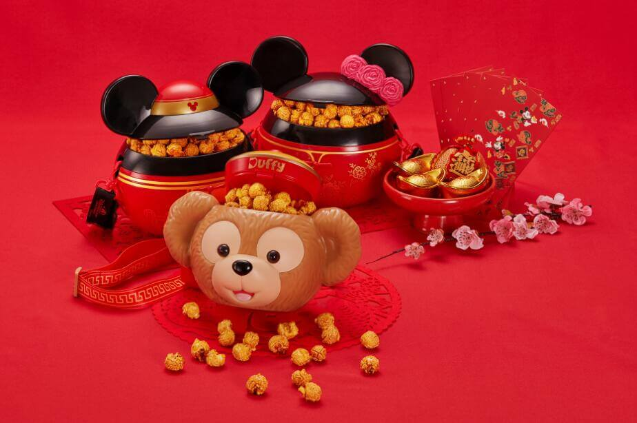 shanghai disney resort is releasing more than 40 specially designed chinese new year items which reflect the themes of happiness and prosperity and