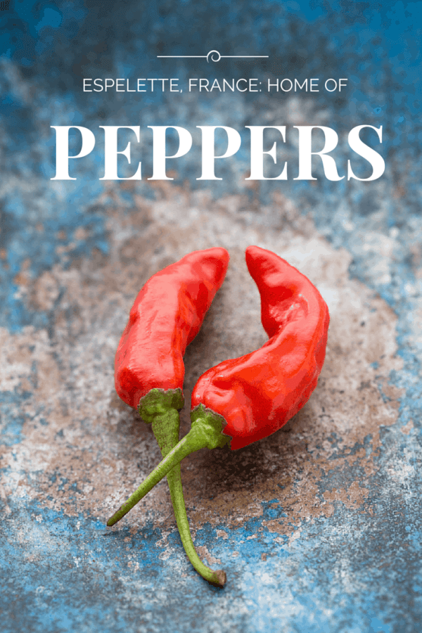 Red peppers grow everywhere in Espelette France - from @insidetravellab