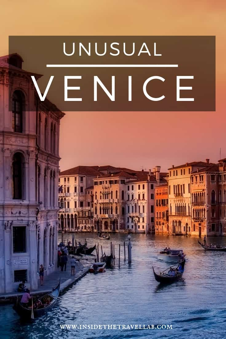 Unusual Venice - how to get off the beaten path in Venice, an absolute highlight of travel to Italy. Here's how to avoid the crowds (and the naysayers) and have a trip you'll remember for the rest of your life. From @insidetravellab #Travel #Italy #Venice