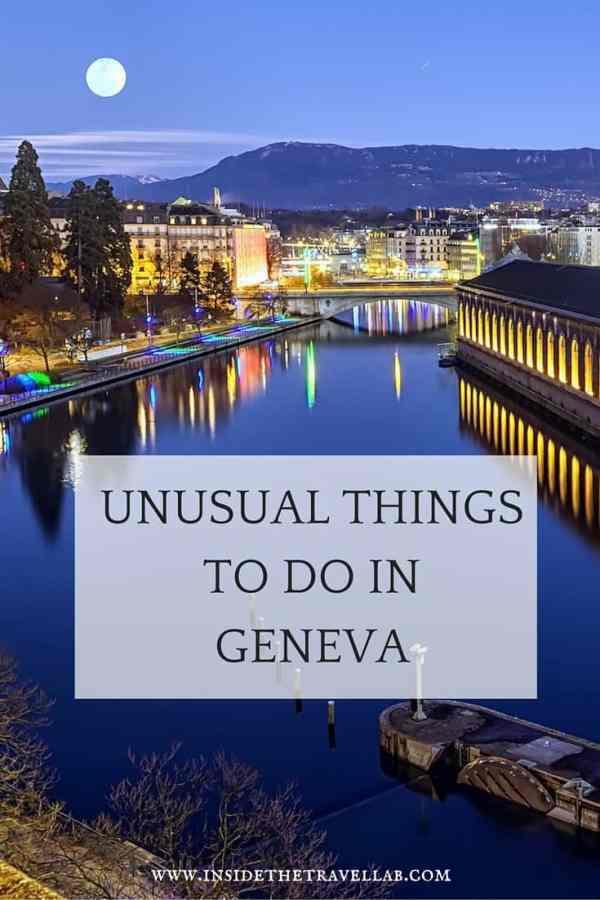 Unusual things to do in Geneva