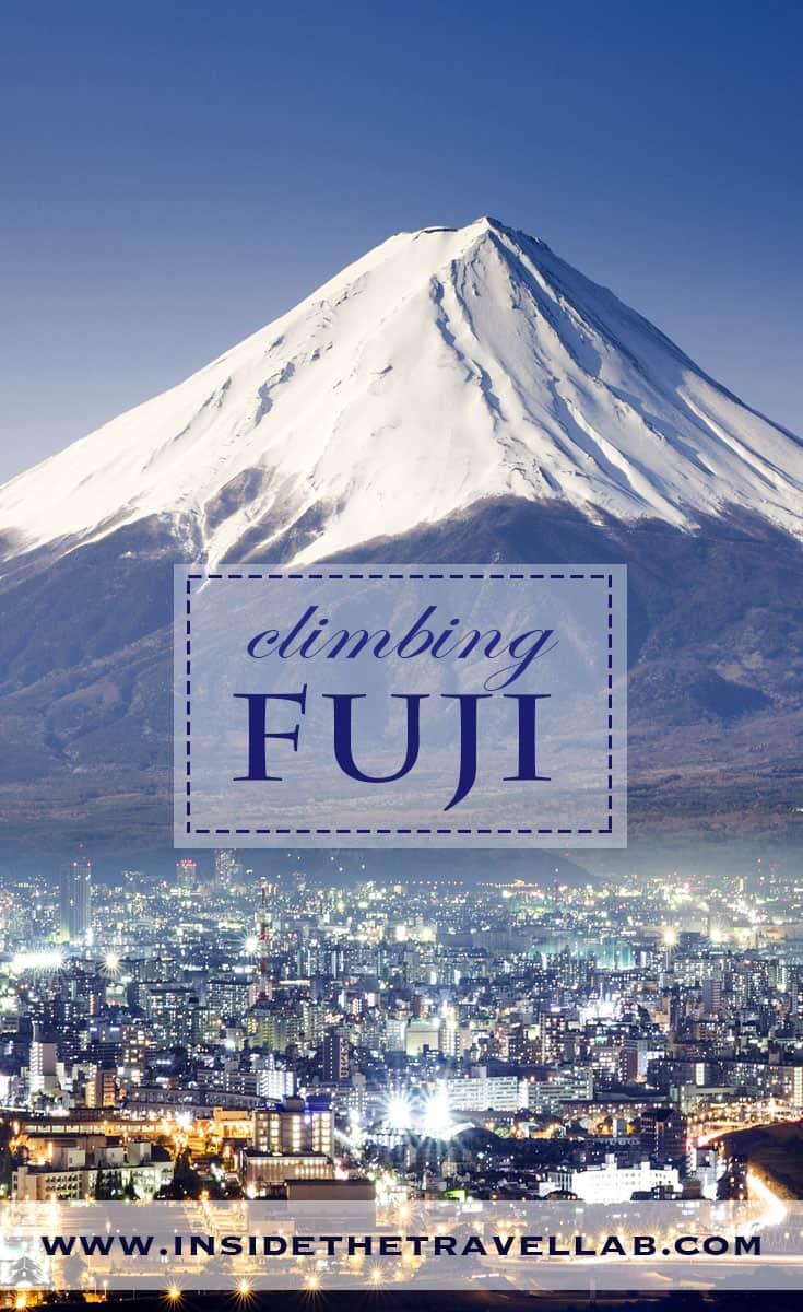 Climbing Mt Fuji via @insidetravellab