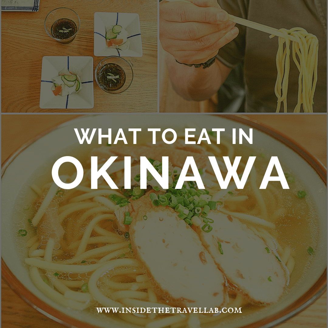 Want to know what to eat in Okinawa? Here's a complete guide on Japanese food in Okinawa, Japan. #Japan #Okinawa #Food