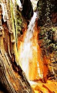 Iron Waterfall - Alpujarras Andalucia