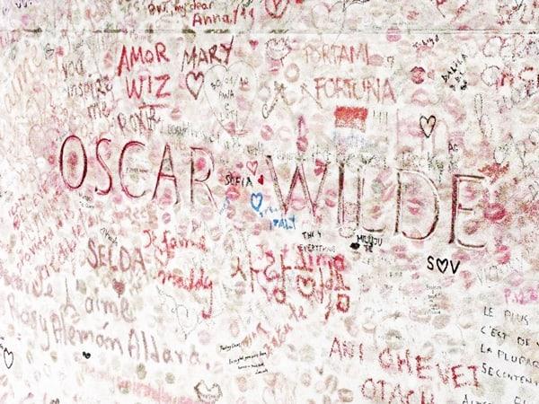 Oscar Wilde and graffiti - unusual Paris