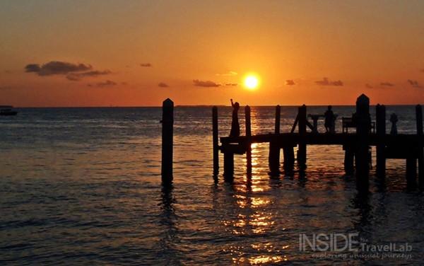 Gratitude at sunset