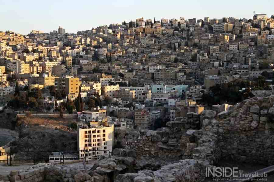Beautiful view of Amman