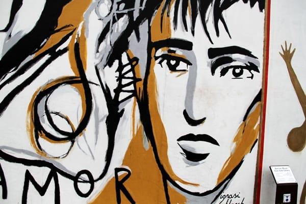 Berlin street art man
