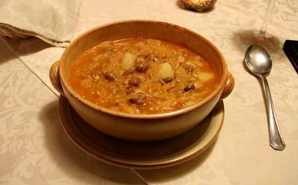 jota - traditional dish from Ljubljana, Slovenia