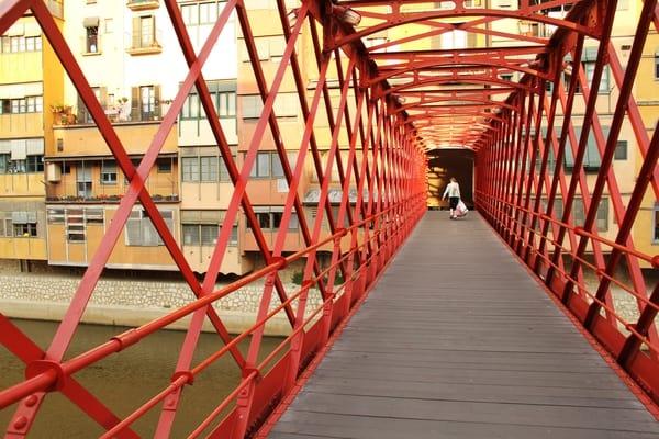 Girona Eiffel Bridge