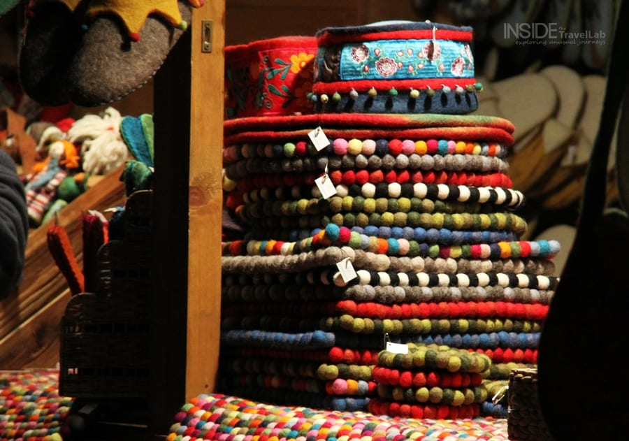 Handicrafts at the Munich Christmas Market