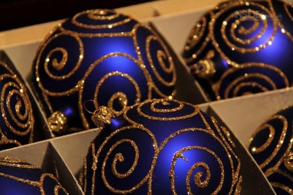 JohannWannerBauble003 blue bauble