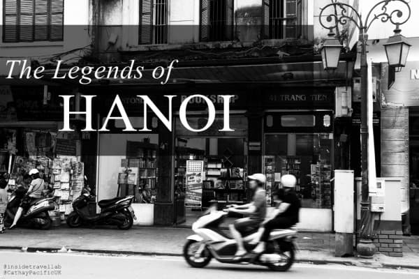 The legends of Hanoi in black and white