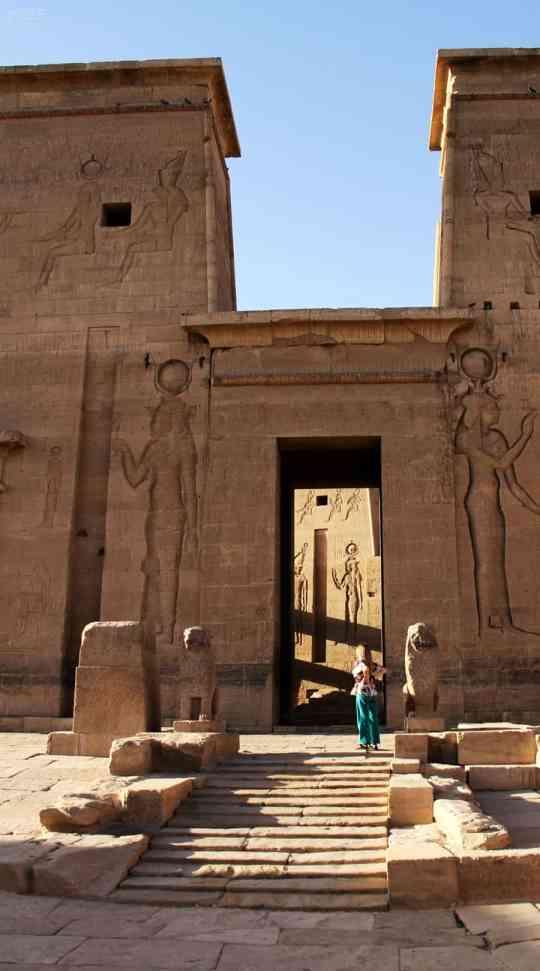 Abi King in Philae Temple