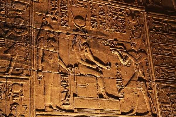 Hieroglyphics in Philae