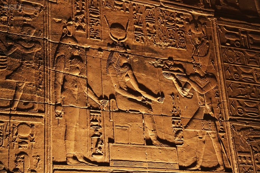 Hieroglyphics in Philae