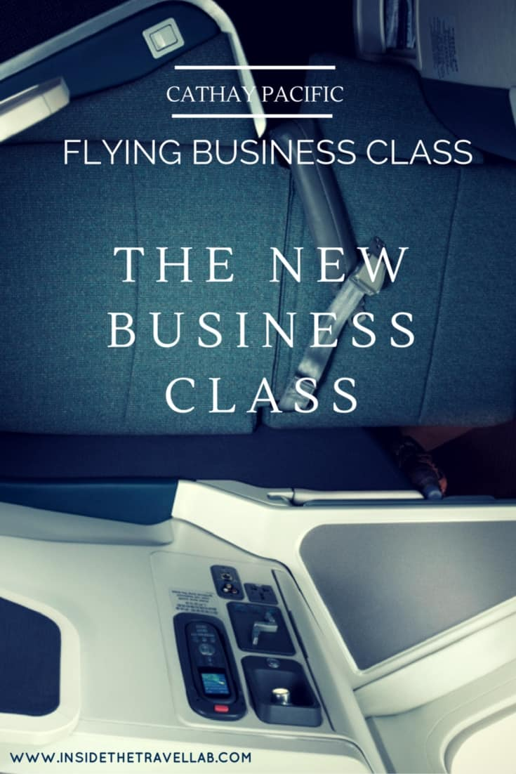 The New Cathay Pacific Business Class Flight in Review via @insidetravellab