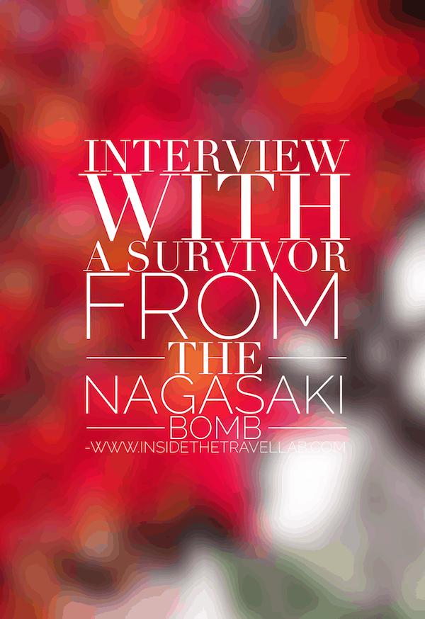 Nagasaki Survivor Article from @insidetravellab