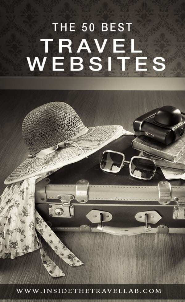 The 50 best travel websites according to The Independent in the UK. With contributions from @insidetravellab