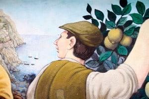 Limoncello mural