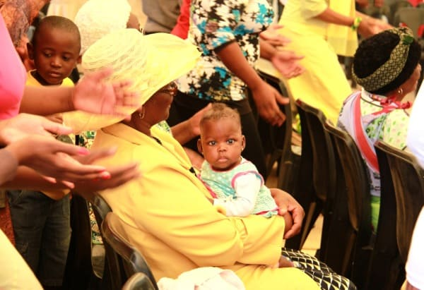 A baby in Soweto