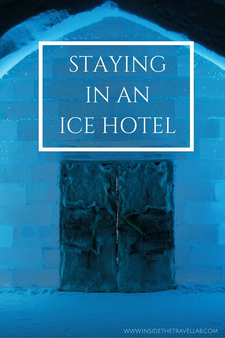 The adventure of staying in an Ice Hotel in Sweden via @insidetravellab