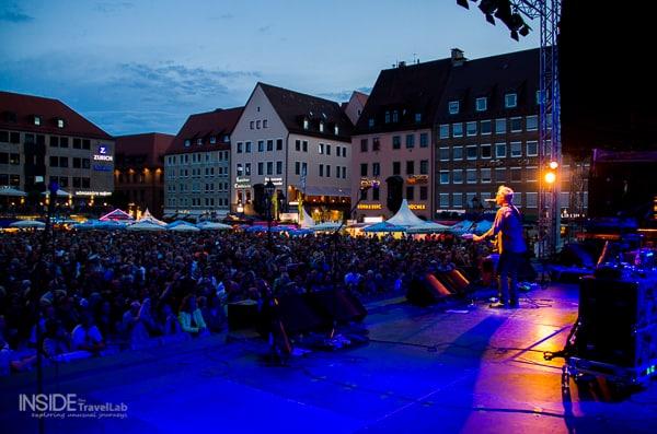Backstage in Nuremberg Bardentreffen