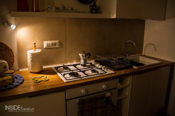 Cosy kitchen, especially at night