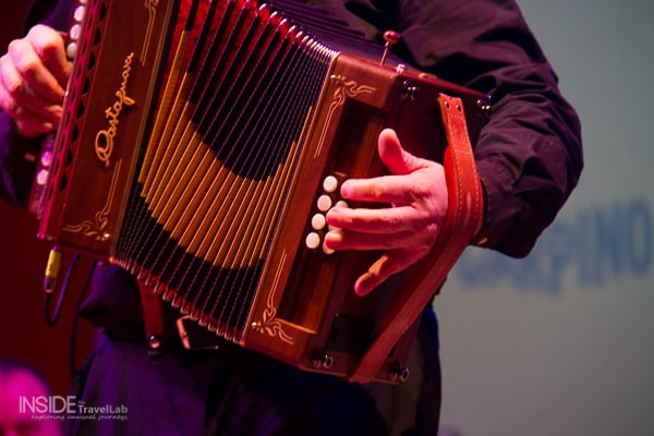 Accordion at Carpino Folk Festival