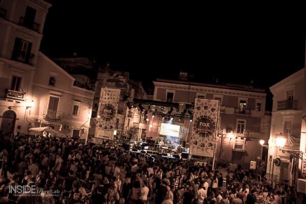 Carpino Folk Festival central square