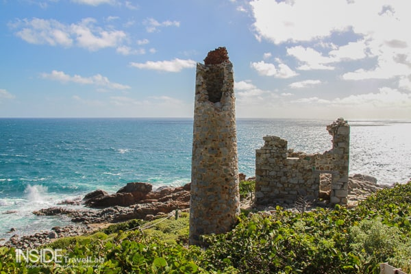 Decaying Welsh Mine in the British Virgin Islands