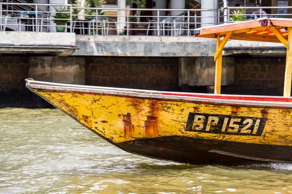 Alternative transport by boat in Brunei