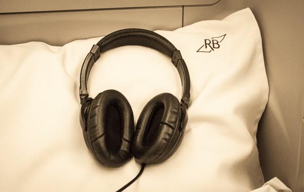 Royal Brunei Business Class Headphones