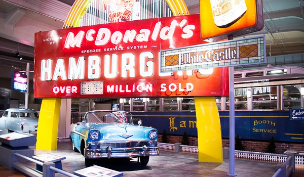 McDonalds at The Henry Ford Museum via @insidetravellab